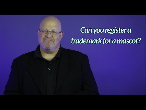 Can you register a trademark for a mascot - Entertainment Law Asked & Answered