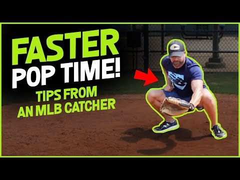 EVERYTHING YOU NEED TO KNOW FOR A FASTER POP TIME! [Baseball Catcher Pop Time Drills]