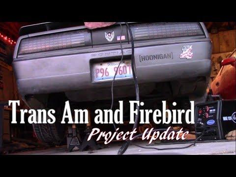 Trans Am and Firebird Project Update