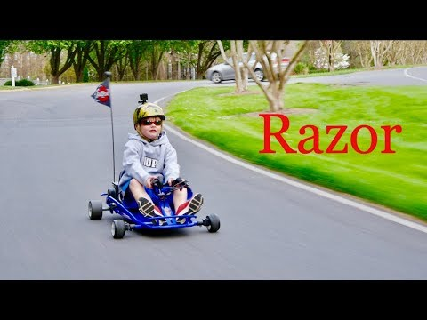 Ridiculous Nicholas: The Razor Race Driver