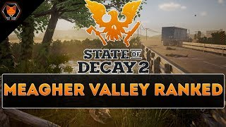 ALL HOME BASES IN STATE OF DECAY 2 DRUCKER COUNTY - THE BEST BASES