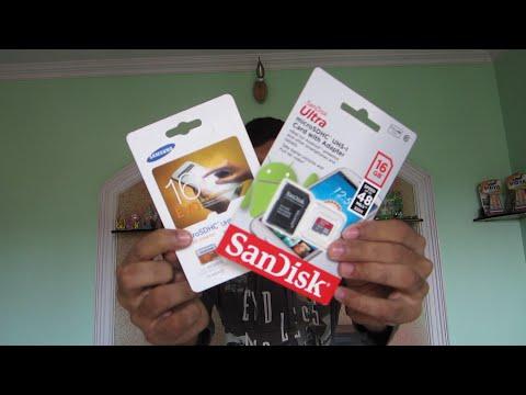 Memory card battle ! SanDisk vs Samsung memory card ! Real life speed test !