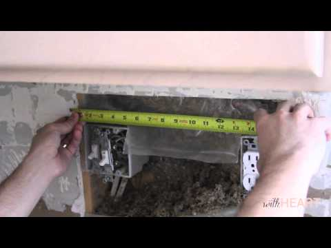 How to Install Under Cabinet Lighting | withHEART