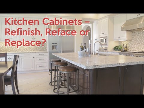 Kitchen Cabinets – Refinish, Reface or Replace