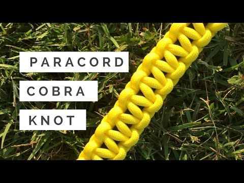 Paracord Cobra Knot - How to Tutorial
