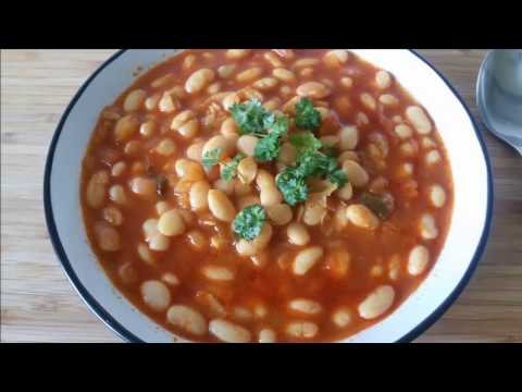 White Beans Stew Recipe - Kuru Fasülye