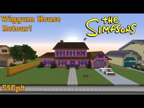 Minecraft Simpsons S05: Wiggum House Retour!