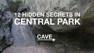12 HIDDEN SECRETS in Central Park | New York City