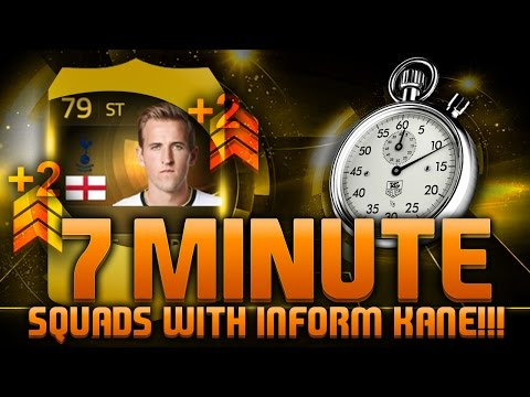 FIFA 15 - 7 MINUTE SQUADS - THIRD INFORM KANE!!! Fifa 15 Hybrid Squad Builder Feat. TIF Harry Kane