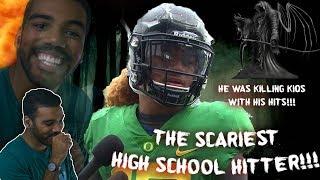 The Hardest Hitting High School Football Player I