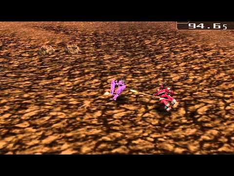 Carnage Heart EXA PSP Gameplay