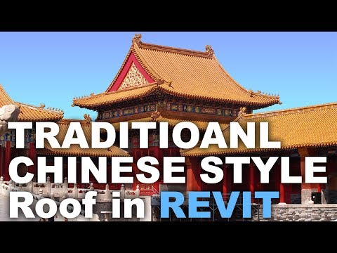 Modeling a Traditional Chinese roof in Revit