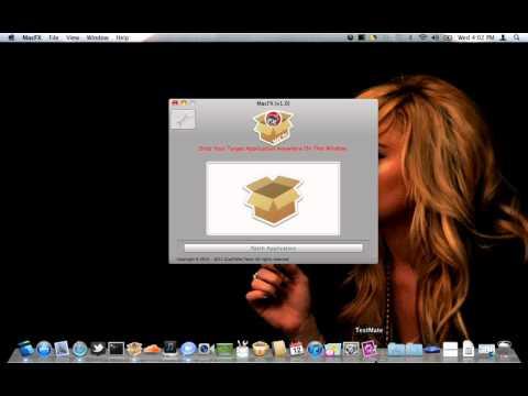 MacFX - Mac App Store Cracking Tool