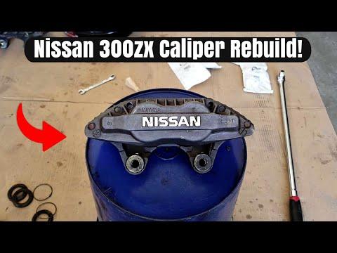 Four Piston Caliper Rebuild! Nissan 300zx Complete Brake Caliper Rebuild!