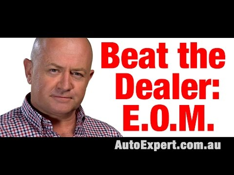 How to Beat a Car Dealer at the End of the Month | Auto Expert John Cadogan | Australia