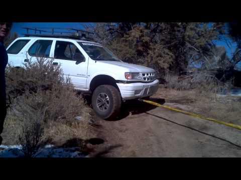 Getting unstuck in Dog Valley, Nevada