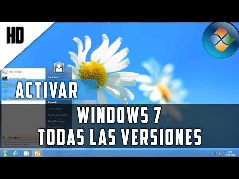 Como Activar Windows 7 cualquier versión para siempre | 2015 | HD