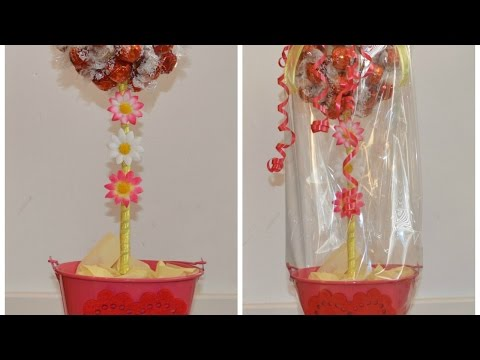 Make a Fabulous Candy Tree Centerpiece - DIY Crafts - Guidecentral