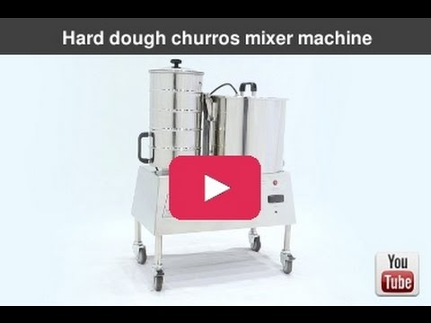 HARD DOUGH CHURROS MIXER MACHINE
