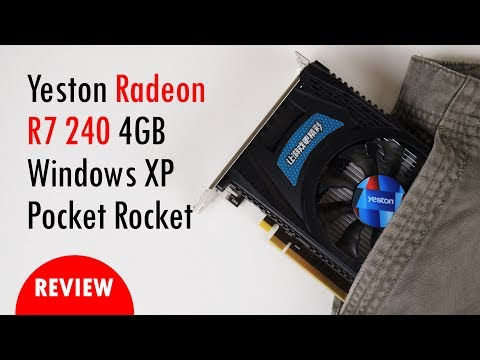 Radeon R7 240 and Windows XP Retro Games