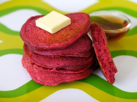 Recipes for Children: How to Make Beet Pancakes for Kids - Weelicious