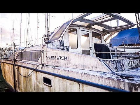 A Tour Of The Boat Graveyard (MJ Sailing - EP 39)