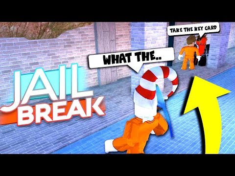I WITNESSED A COP DO THIS.. IN THE NEW JAILBREAK SEWER