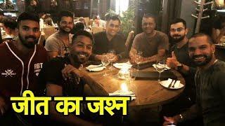 Team India Celebration After Johannesburg T20 Win | Sports Tak