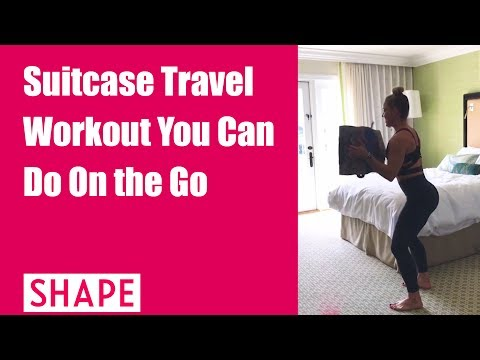 Suitcase Travel Workout You Can Do On the Go