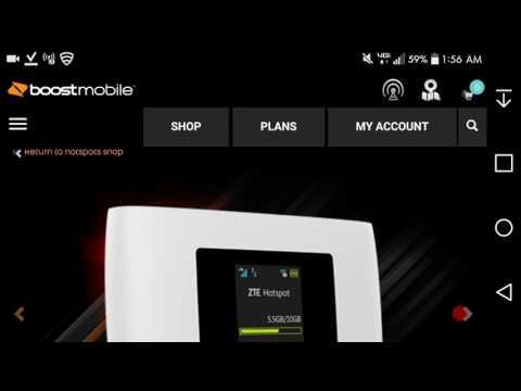 ZTE Warp Connect | Boost Mobile