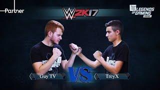 GuyTV vs TreyX | פרק 22 | WWE 2K17