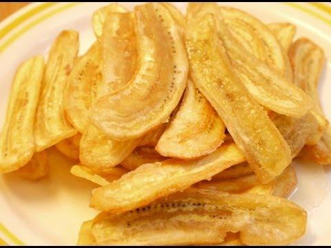 Thai dessert-Bananas chips