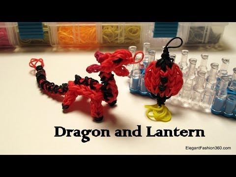 Rainbow Loom Dragon Charm/action Figure - How to