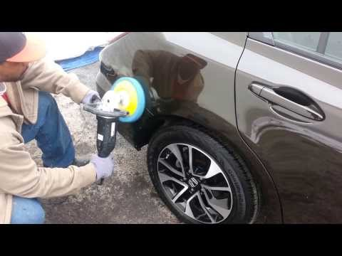 How To Wet Sand, Buff and Polish Out Scratches on A Car