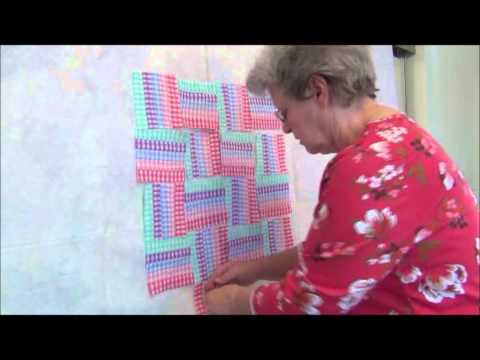 How To: Miniature Rail Fence Quilt Pattern