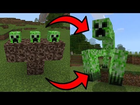 How To Spawn the Mutant Creeper Boss in Minecraft Pocket Edition
