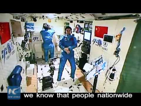 Space Journal: Chinese astronauts accept 1st earth-space interview