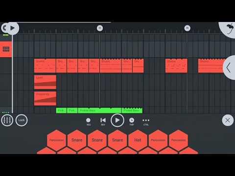Making dubstep from fl studio mobile(free flm)
