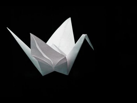 Origami Crane - Easy-to-follow tutorial