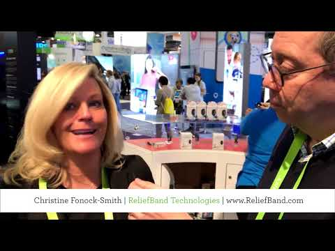 CES 2018 Product Spotlight: ReliefBand, Drug-free Nausea Relief