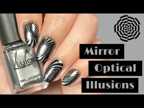 〰️ MIRROR Optical Illusion Nail Tutorial 〰️