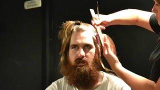 Mens Hair and Beard Transformation