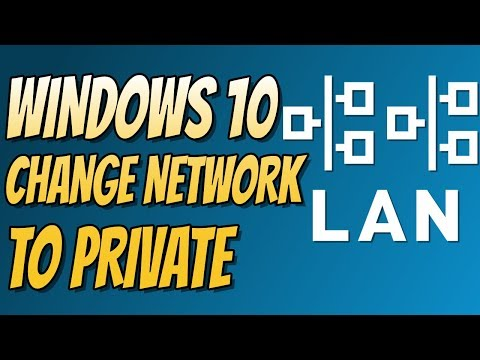 How To Change Your Windows 10 Wired Network from Public To Private | Discover PCs & Printers