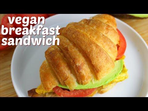 the ultimate vegan breakfast sandwich