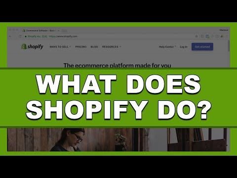 Beginners Only...This Is What Shopify Does For You