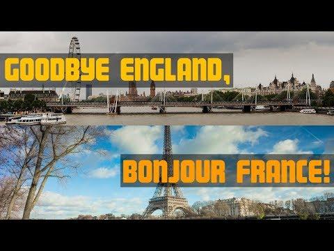 Goodbye England, Bonjour France! Motorhome Life Begins...