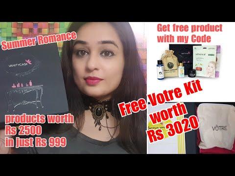 Vanity Cask Summer Romance Edition + Free Votre Kit worth Rs 3020