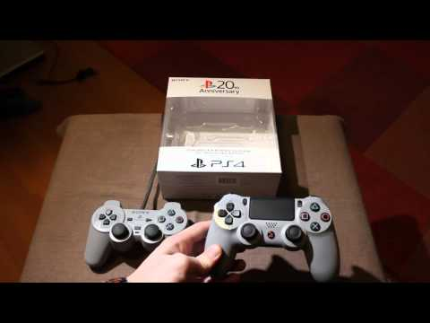 Playstation 4 (PS4) 20th Anniversary dual shock 4 controller review