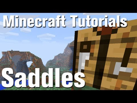 Minecraft Tutorial: How to Make a Saddle in Minecraft