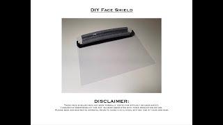 DIY Face Shield COVID-19